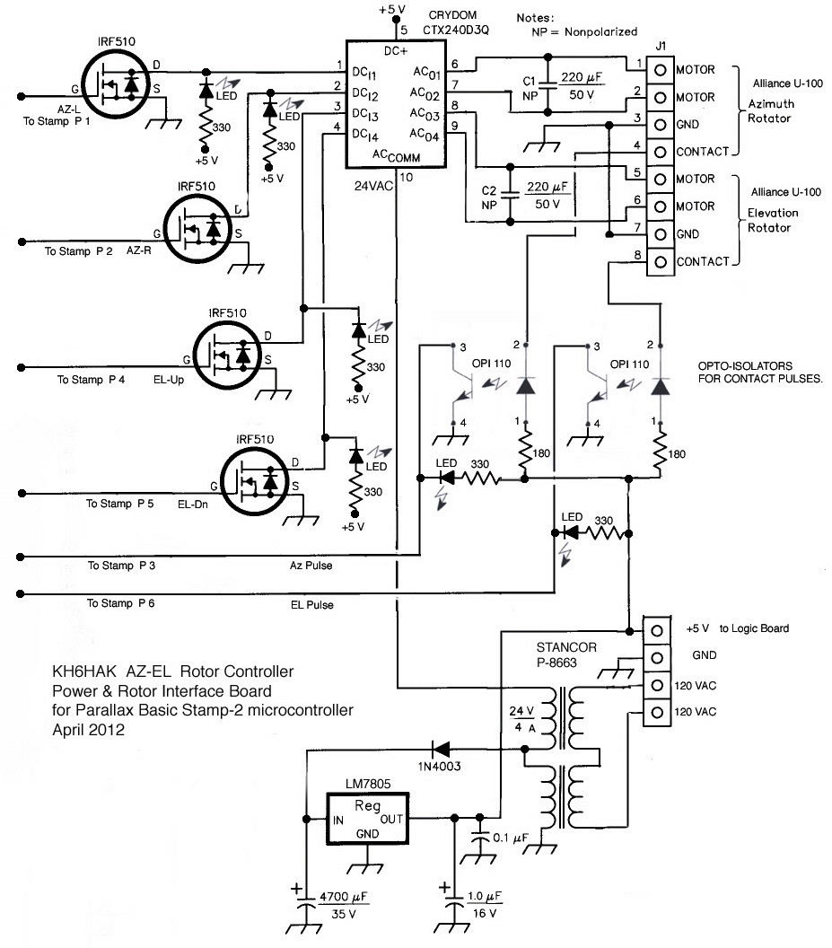 Alliance Antenna Rotor Wiring Diagram | Wiring Library